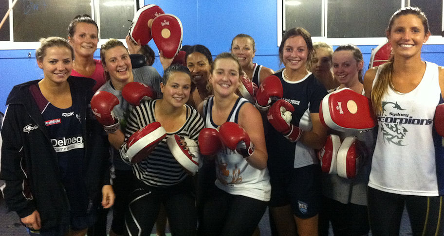 Girls Boxing @ TG
