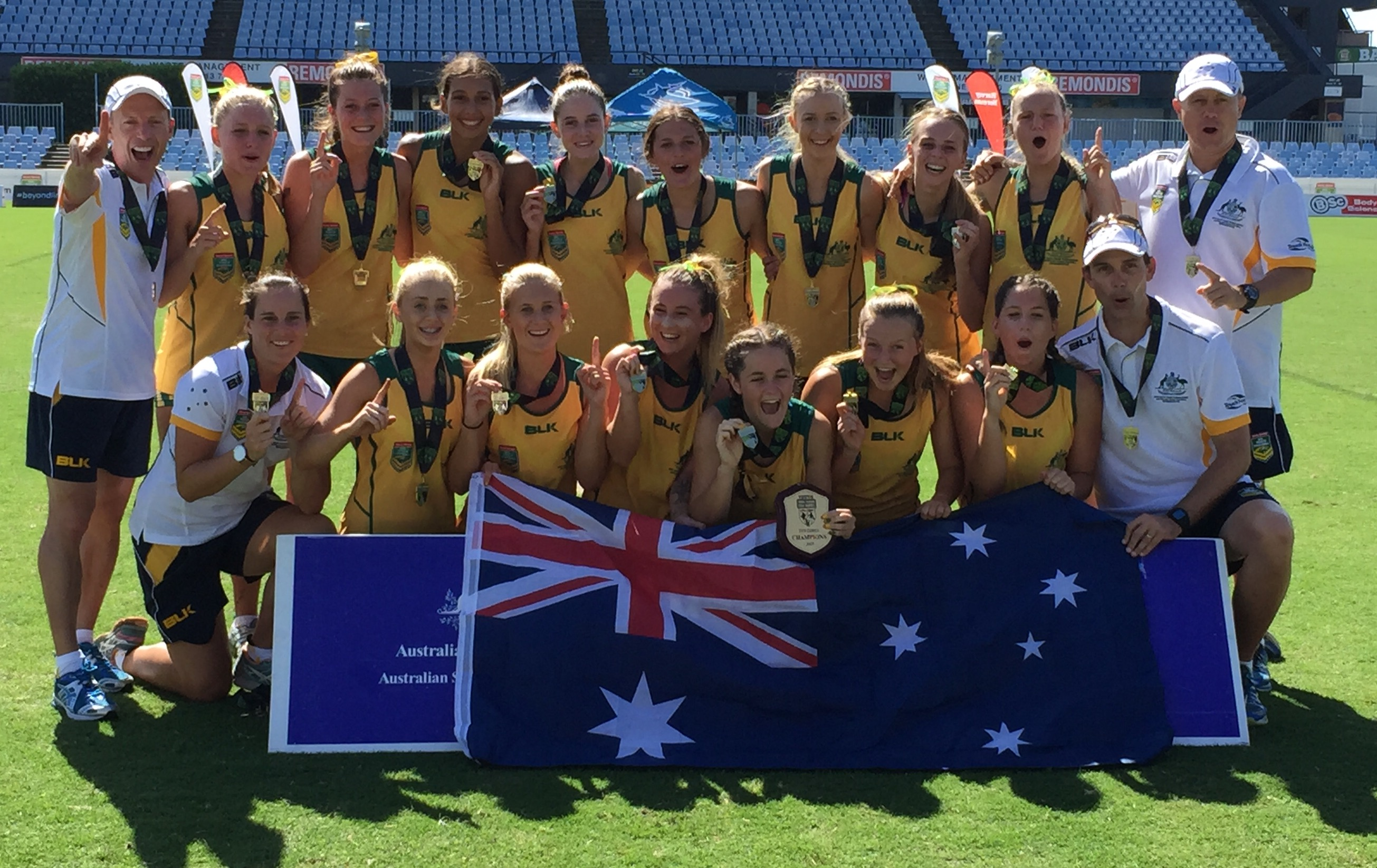 Aussie 18 Girls Champions